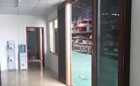 京美铝业工厂休息区