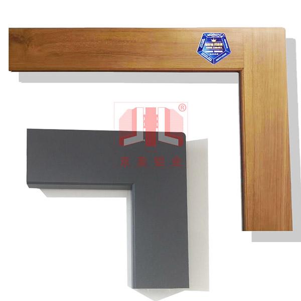 京美铝业无缝焊接门窗型材