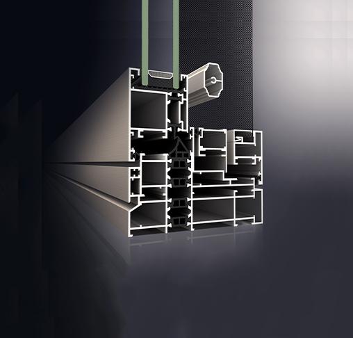 京美120系统窗型材